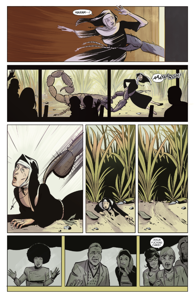 Colossi Issue One - Preview 1