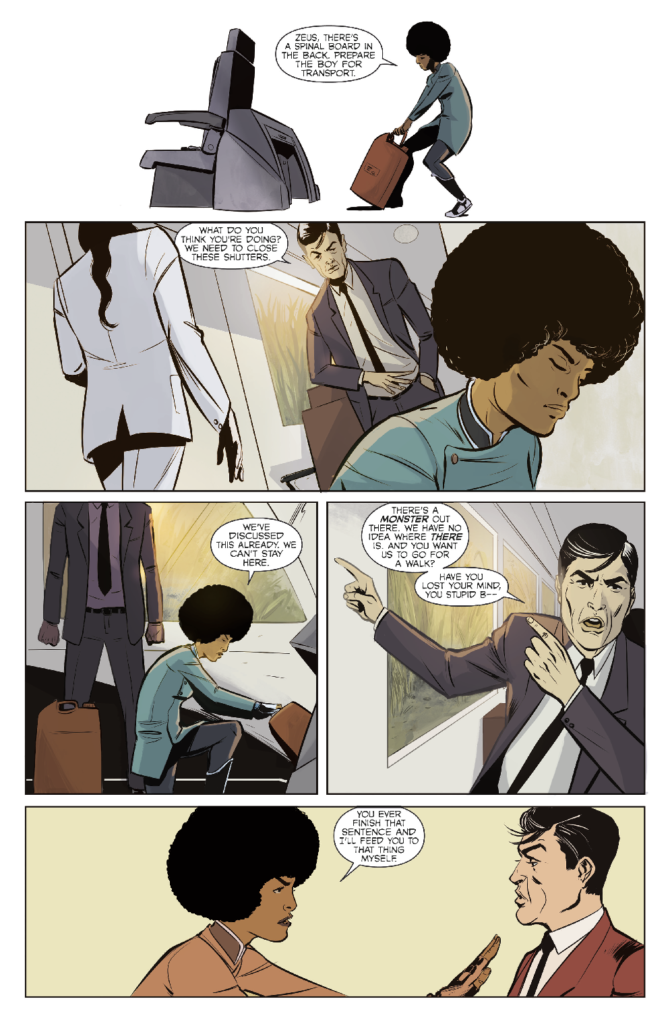 Colossi Issue One - Preview 3
