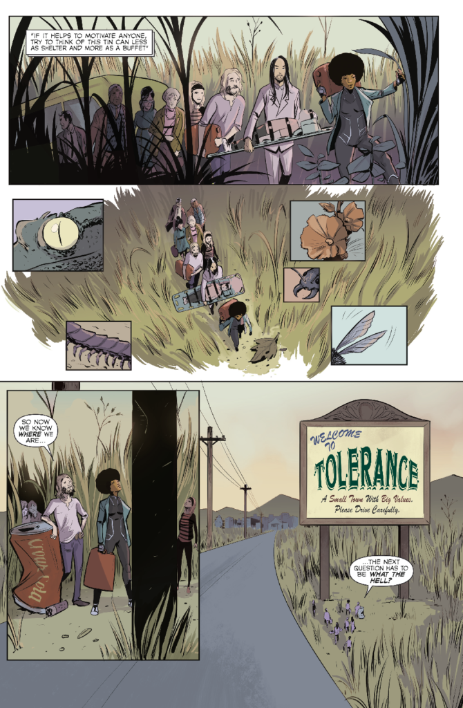 Colossi Issue One - Preview 2