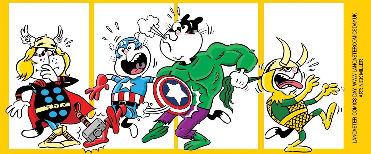 Lancaster Comics Day 2017 SNIP