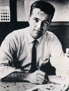 Comic artist Neal Adams in the 1960s