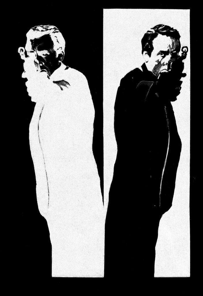 Everyman by Brian Gorman - The schizoid man