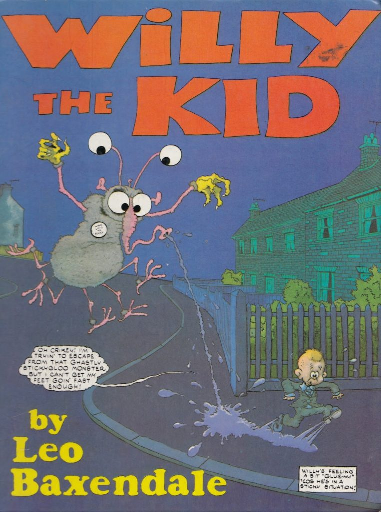 Willy the Kid Annual Two - Front Cover