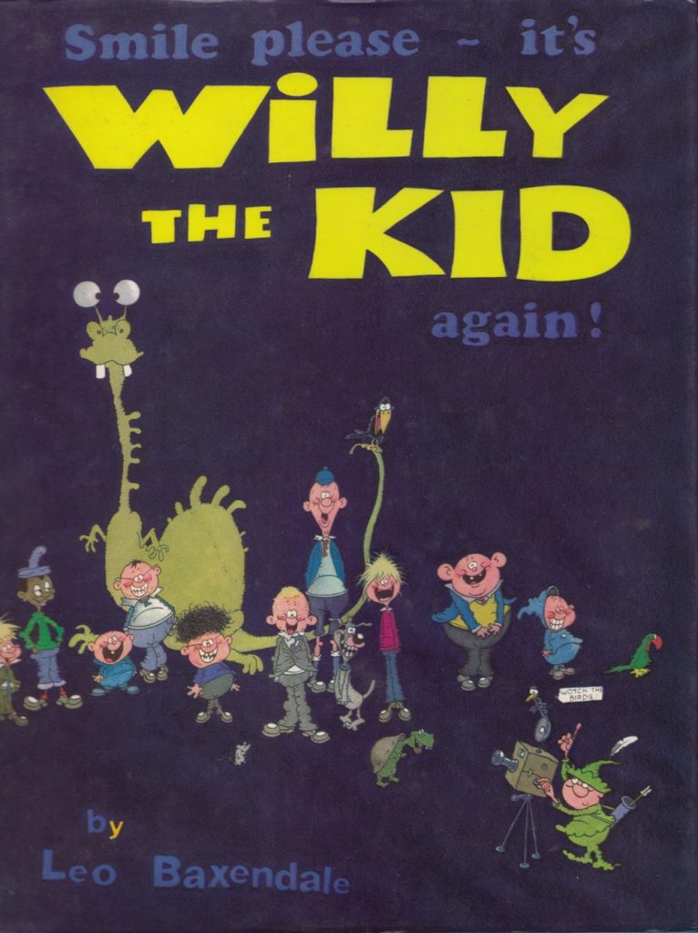 The front cover of the third Willy the Kid annual