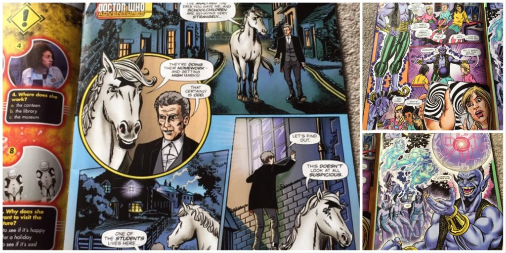 Doctor Who Adventures Issue 23 - Killer App Strip