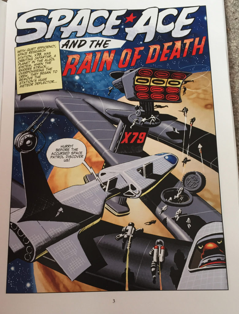 Space Ace Volume Eight - Rain of Death