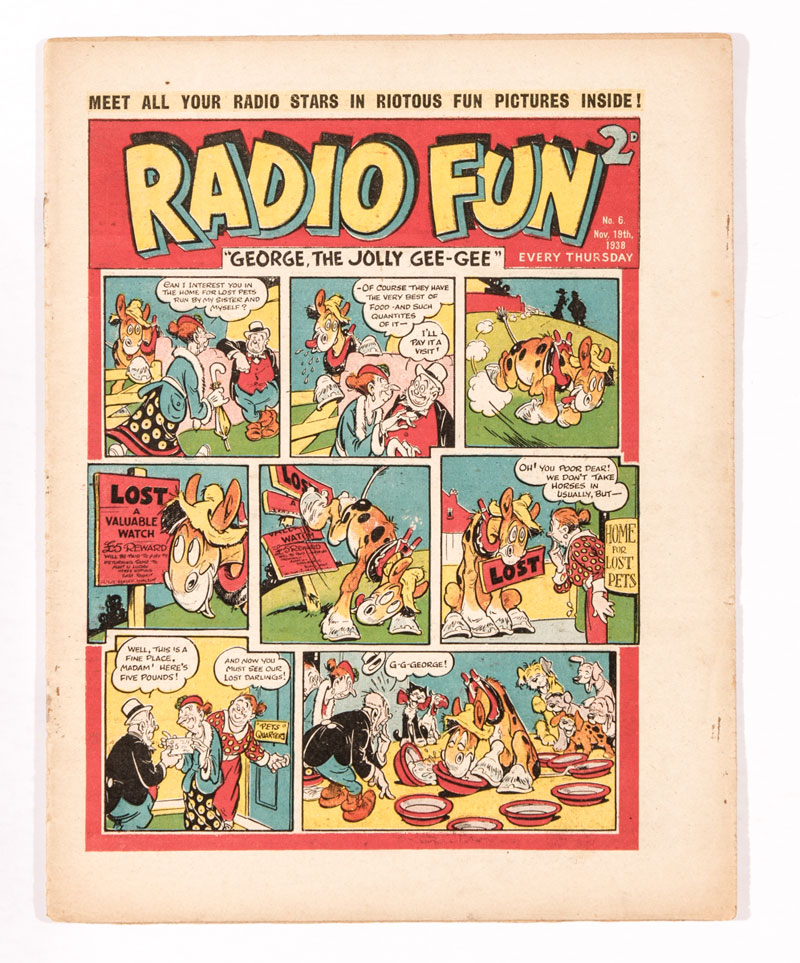Radio Fun Issue 6 (1938)