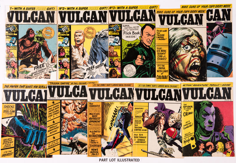 Vulcan Scottish Editions