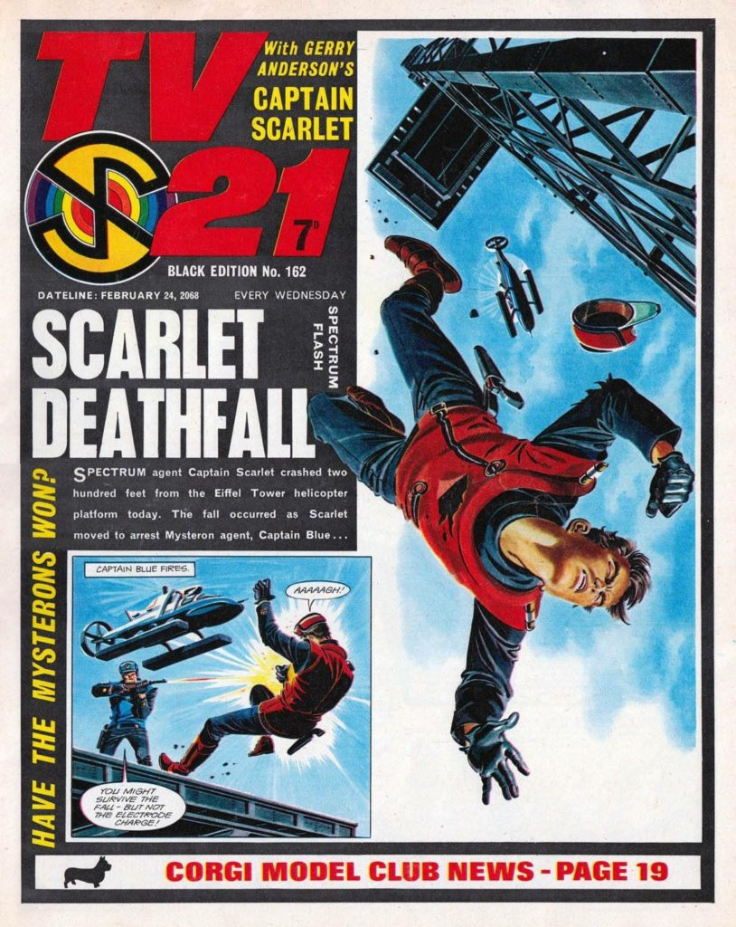 """TV21 Issue 162 Cover - """"Deathfall"""""""