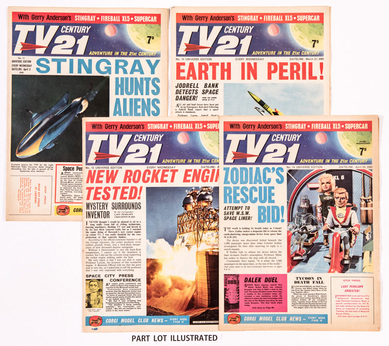 TV Century 21 - Various Issues (from Issues 10 - 20 range)