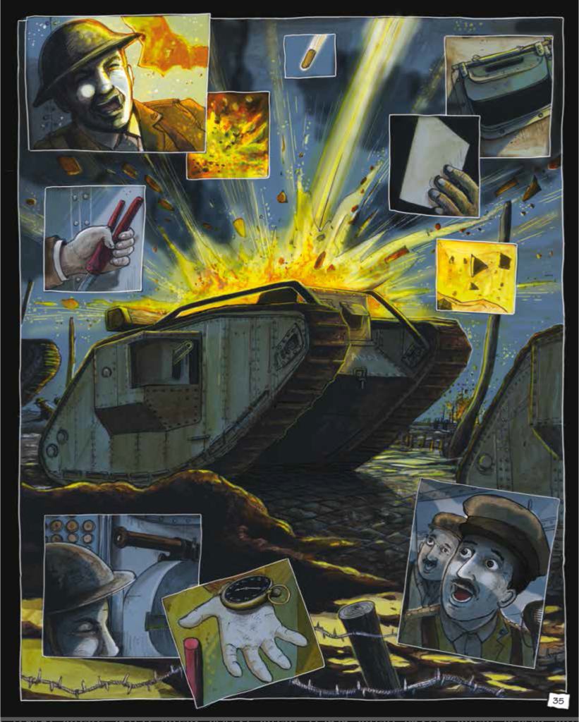 World War One art by Ivan Petrus