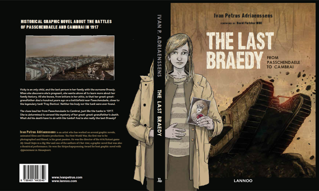 The Last Braedy - Cover