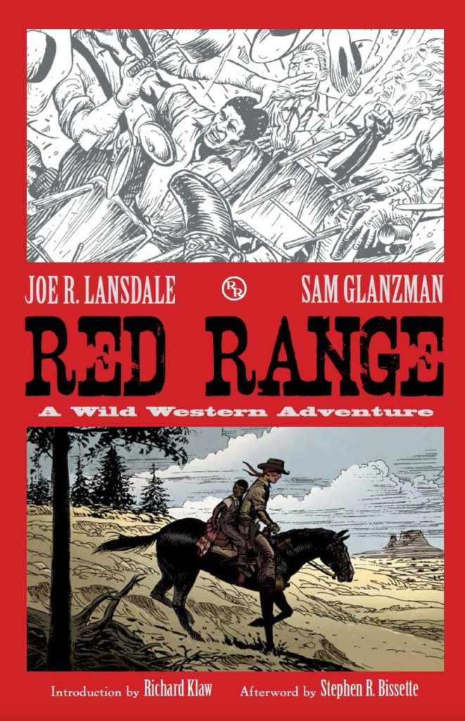 The cover of the It's Alive edition of Red Range by Joe R. Lansdale and Sam Glanzman