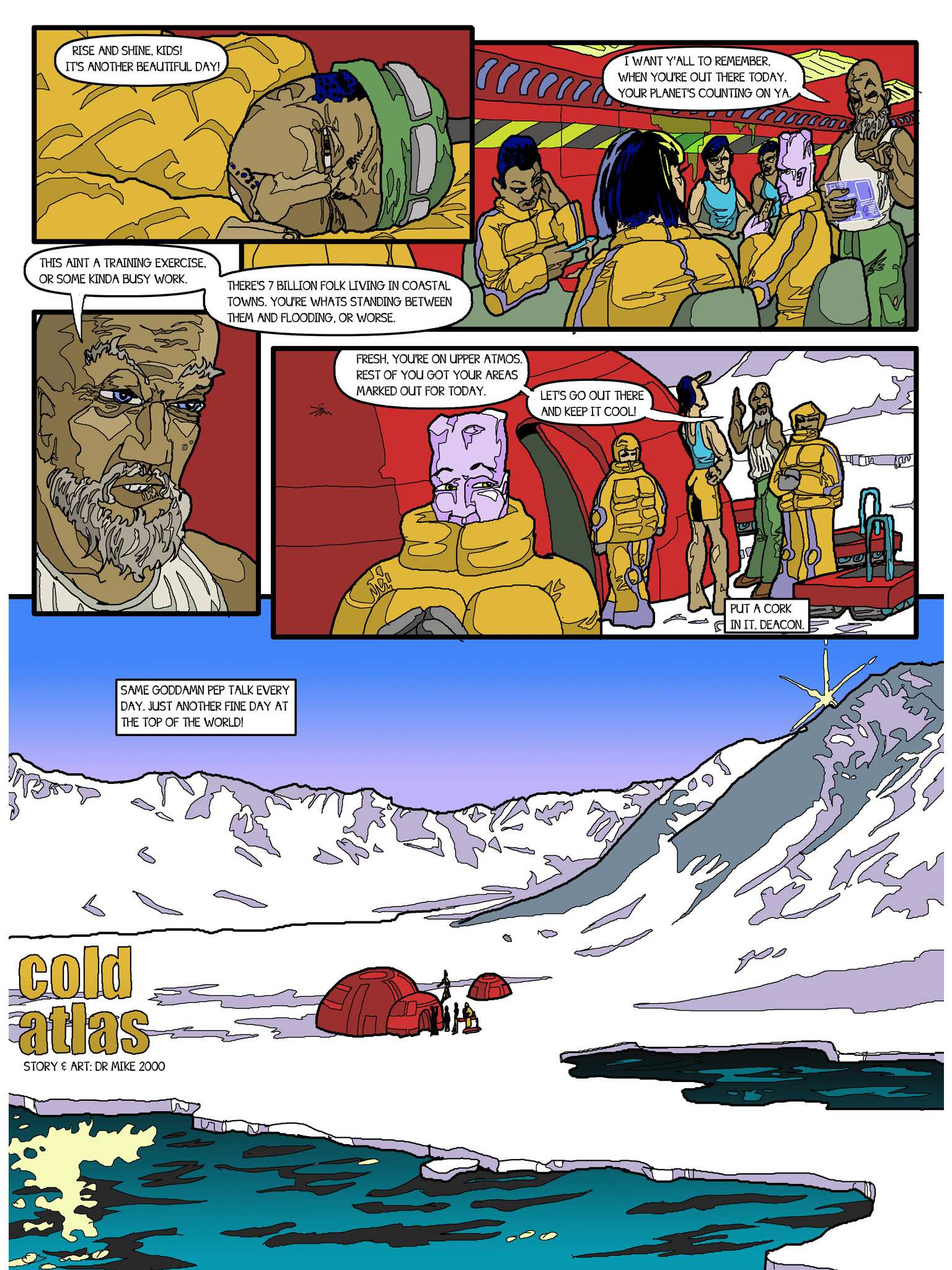 Panelalia 01 - Cold Atlas by Mike Cooper