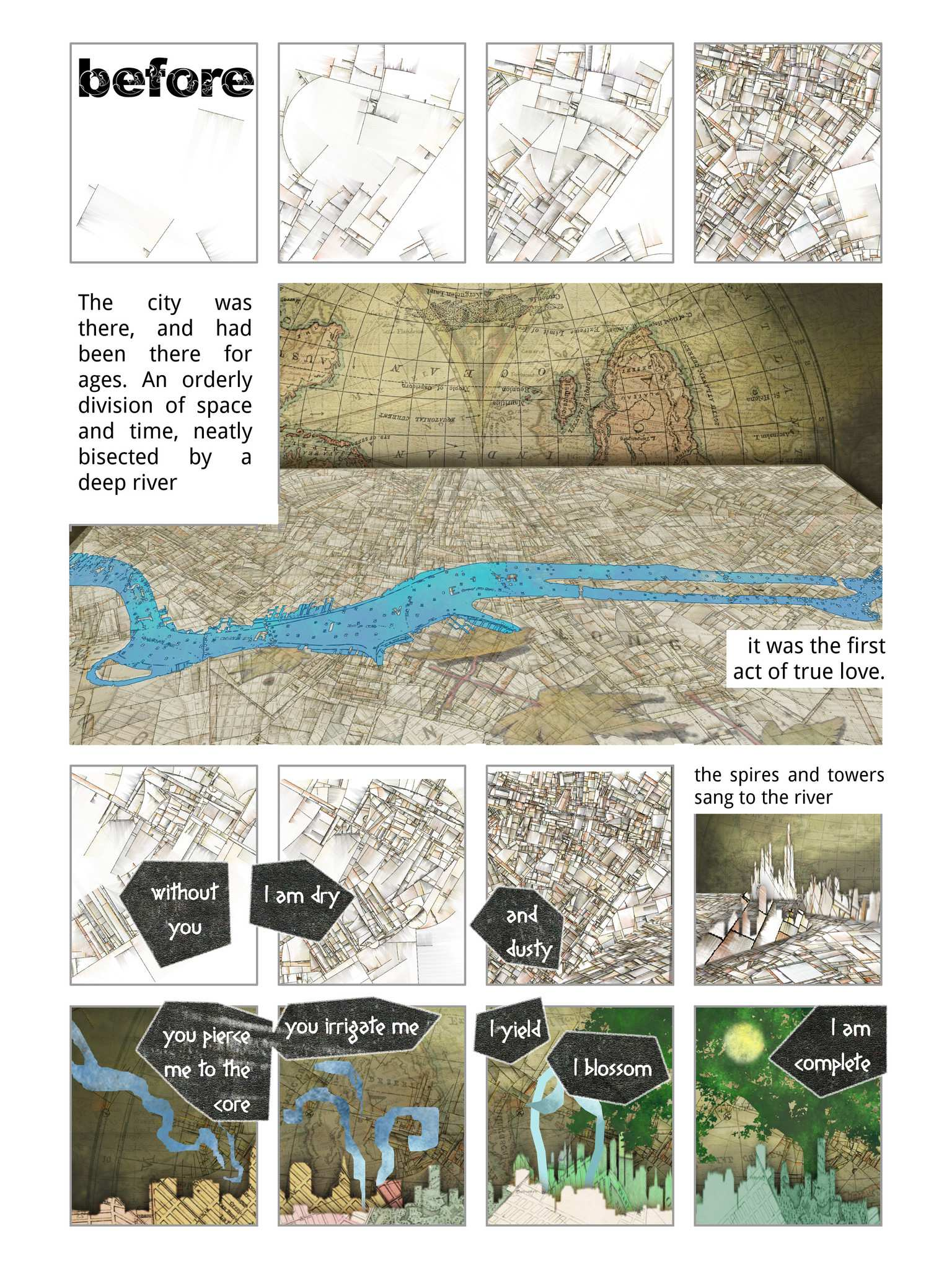 Panelalia 01 -  Urban Landscapes by Dave Crane