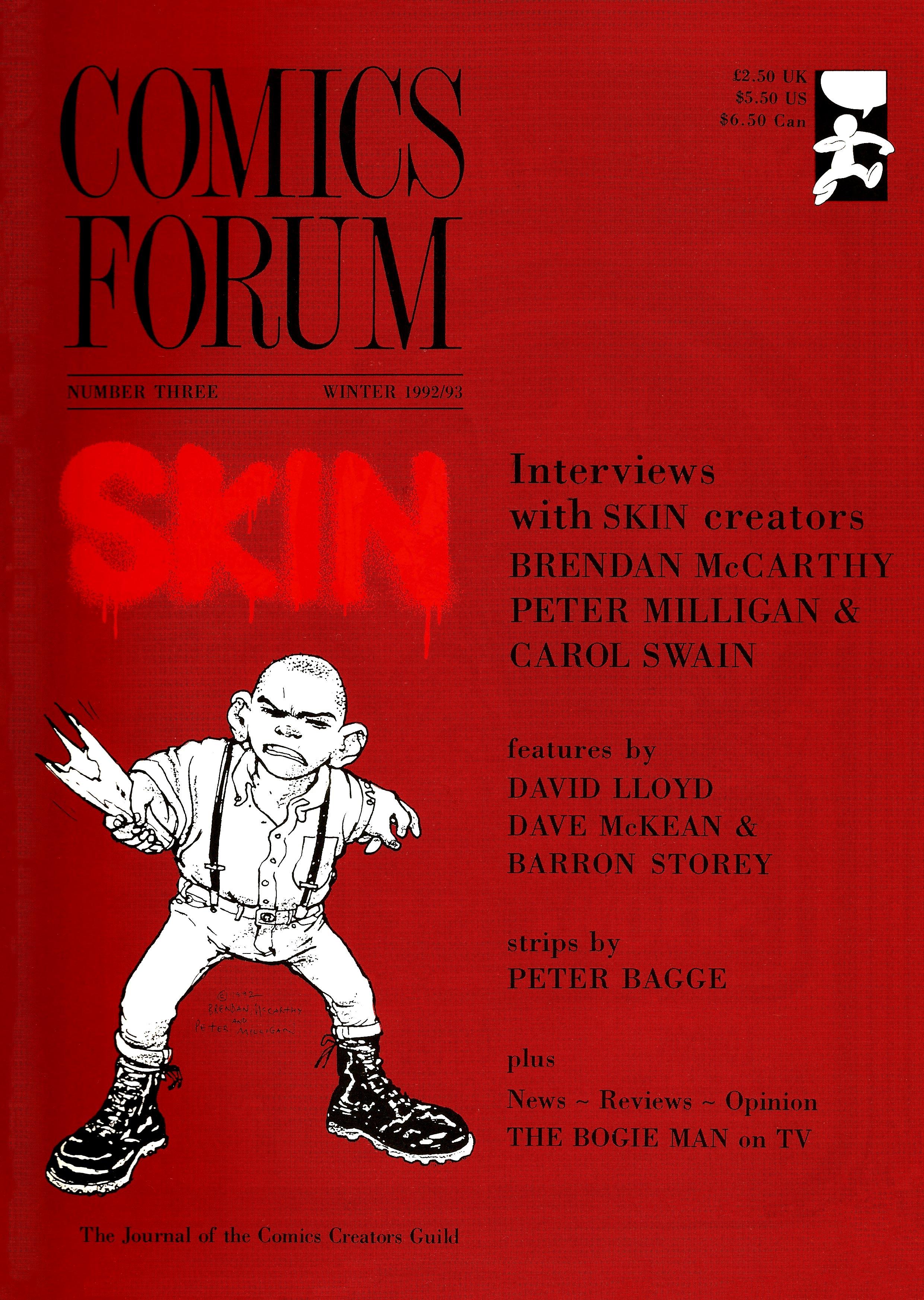 Comics Forum 3 - Cover