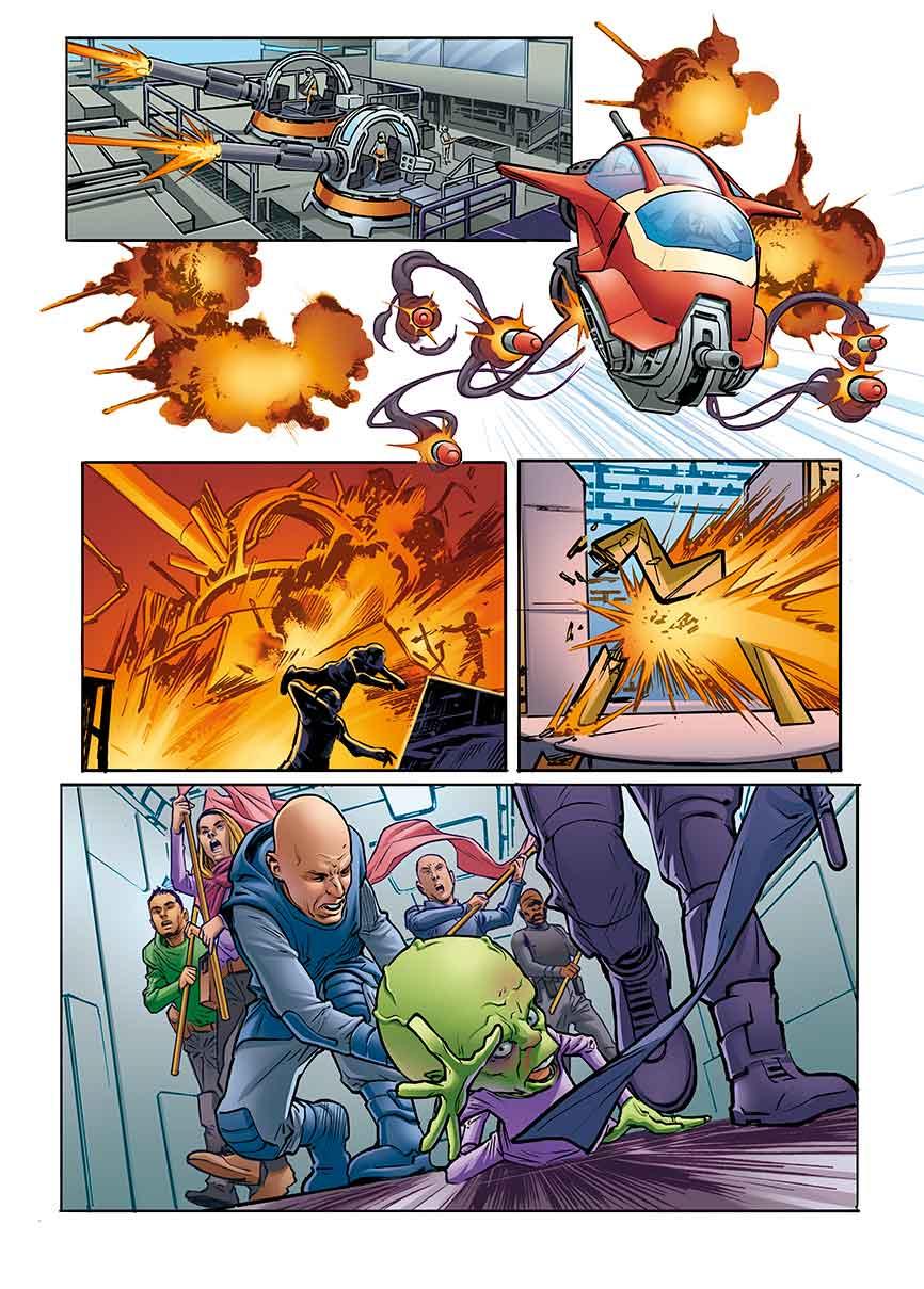 Dan Dare: Pilot of the Future #1 - Page 3