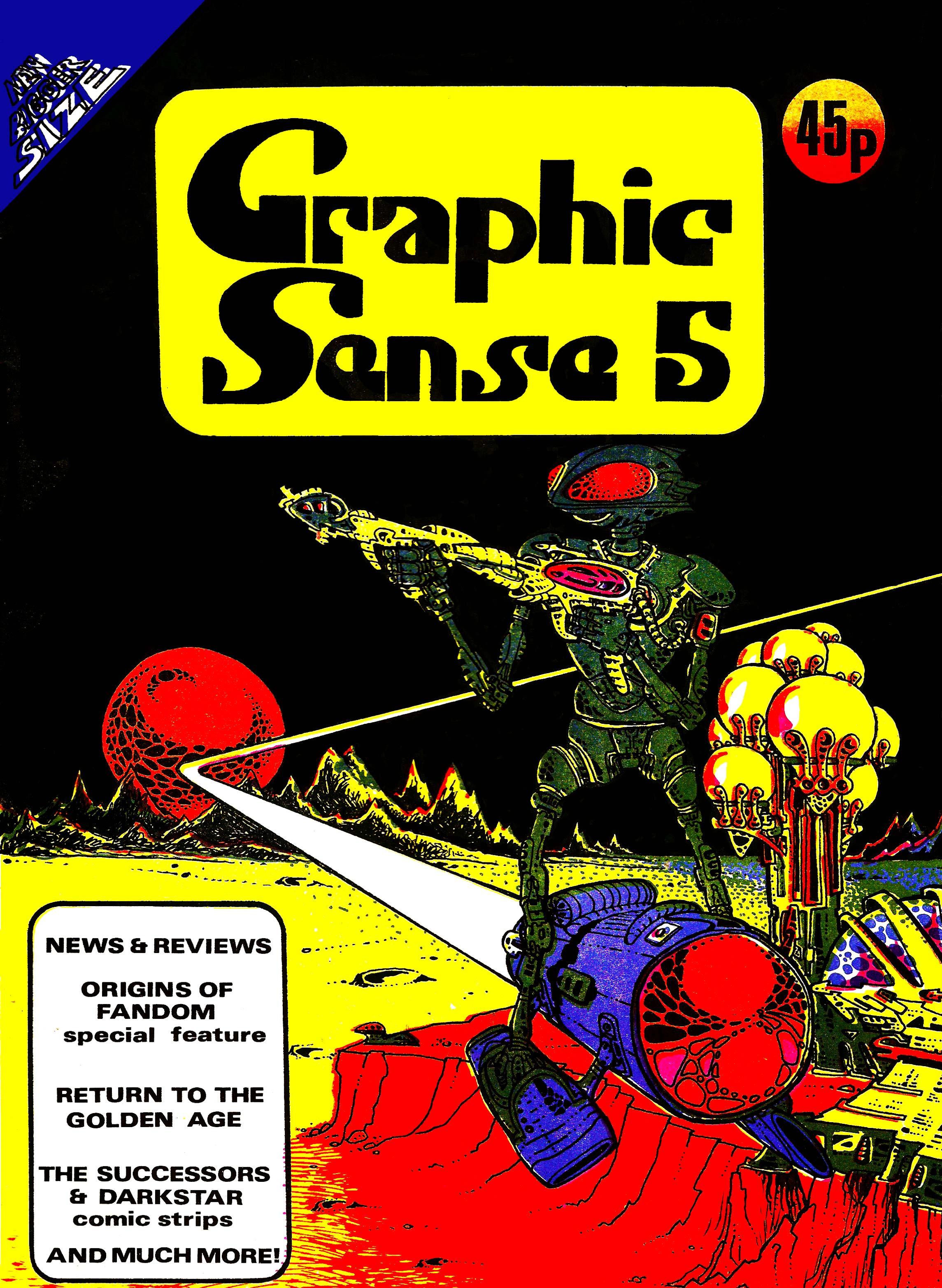 Graphic Sense 5 - Cover