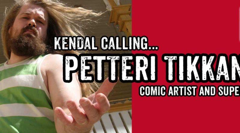 Kendal Calling Petteri Tikkanen - Banner