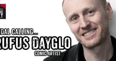 Rufus Dayglo - LICAF 2017 Banner