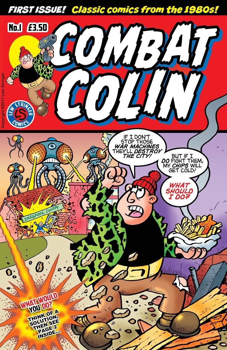 Combat Colin #1 Cover