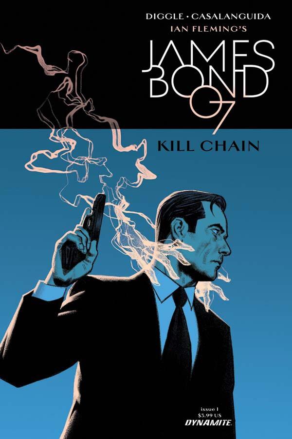 James Bond: Kill Chain Cover A by Greg Smallwood