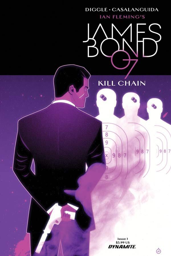 James Bond Kill Chain #1 Cover B by Juan Doe