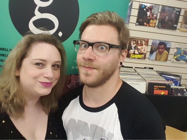 Incredible Comic Shop - Emily 'Baracus' Owen and Gavin Mitchell