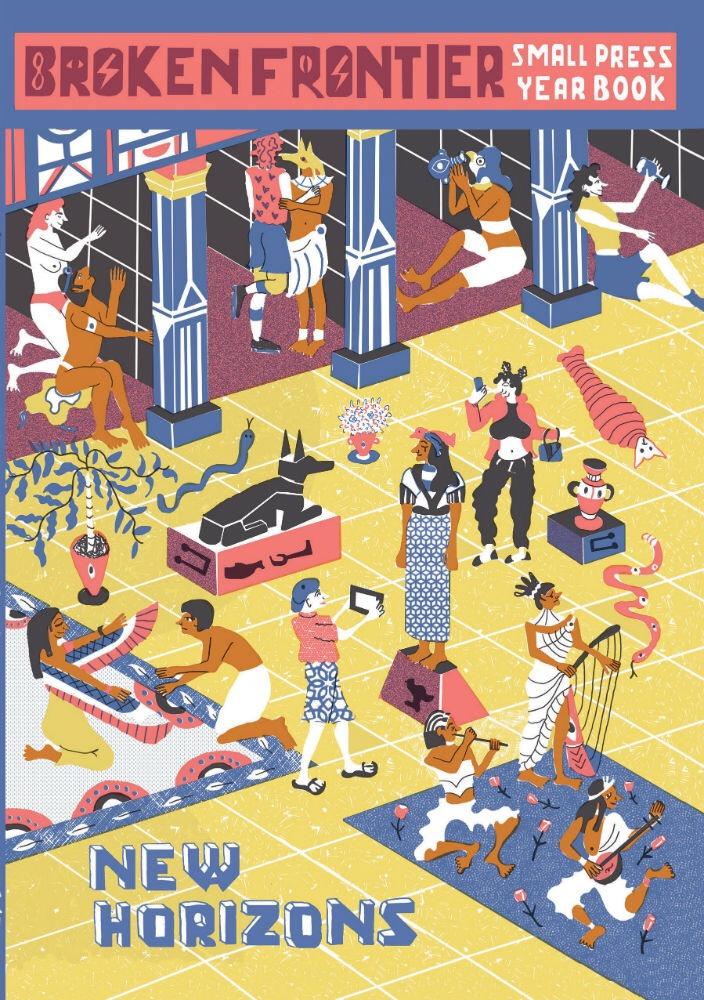 Broken Frontier Small Press Year Book 2017 - Cover by Ellice Weaver
