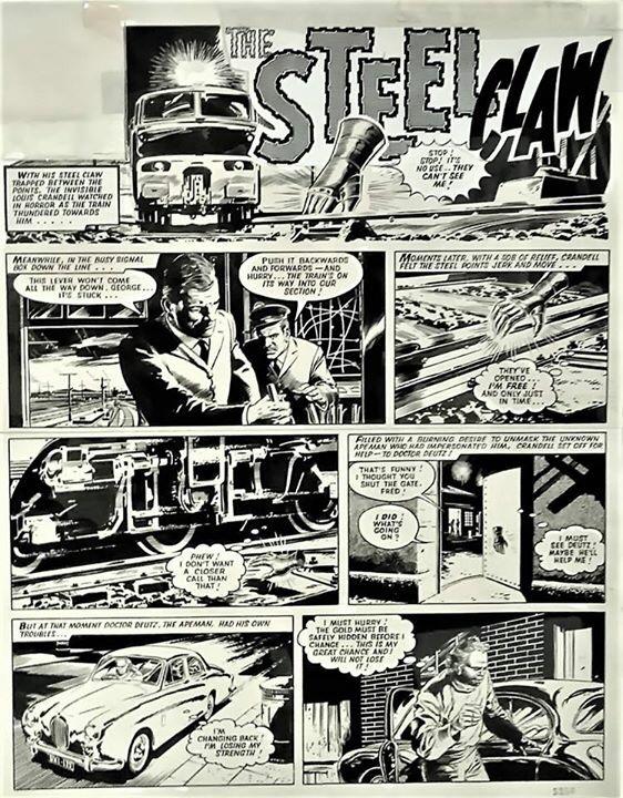 """The Steel Claw"" by Jesus Blasco"