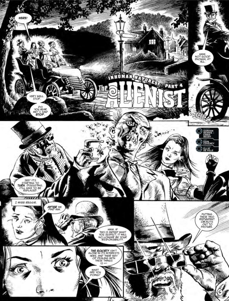 2000AD 2045 The Alienist - Inhuman Natures (Part 4)