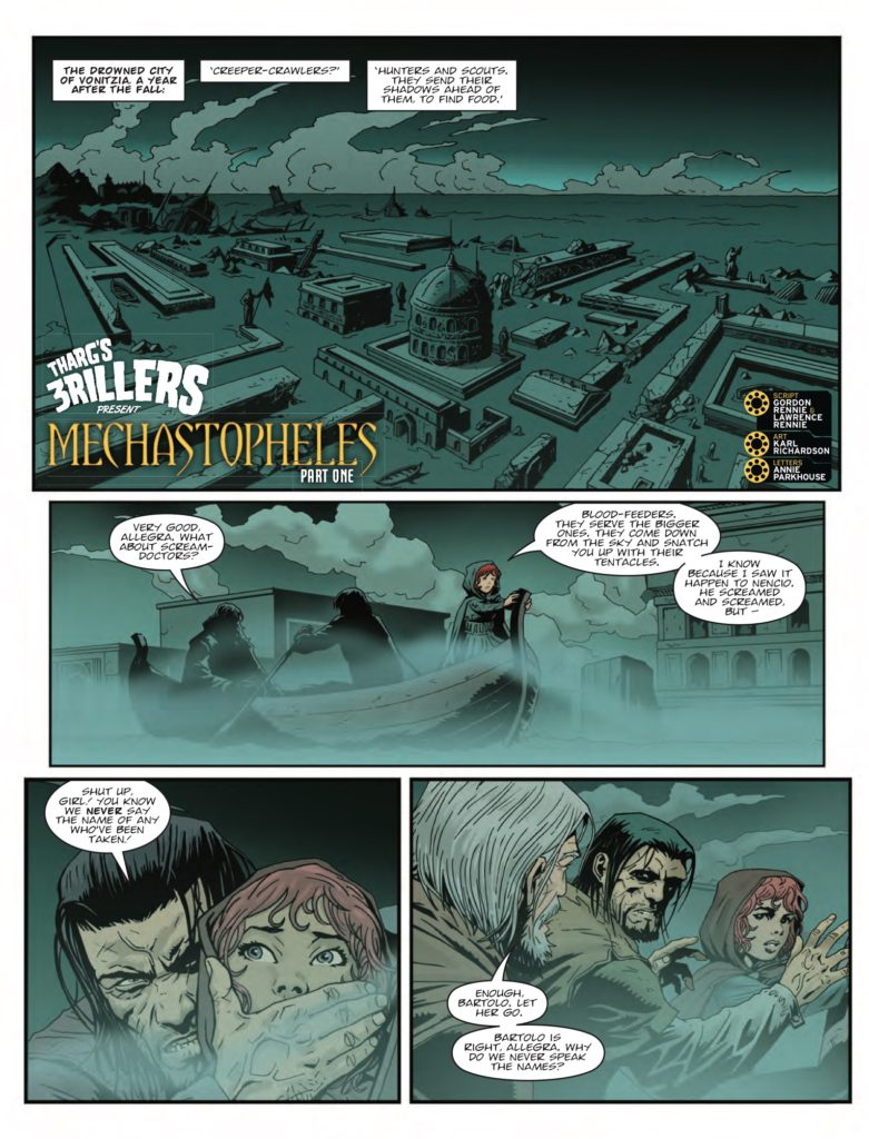 2000AD 2045 - Tharg's 3rillers Present - Mechastopheles (Part 1)
