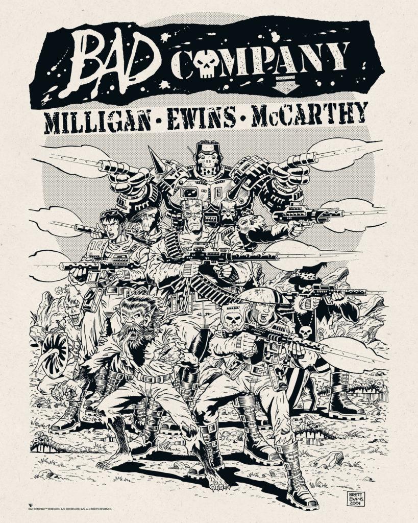 Brett Ewins - Bad Company