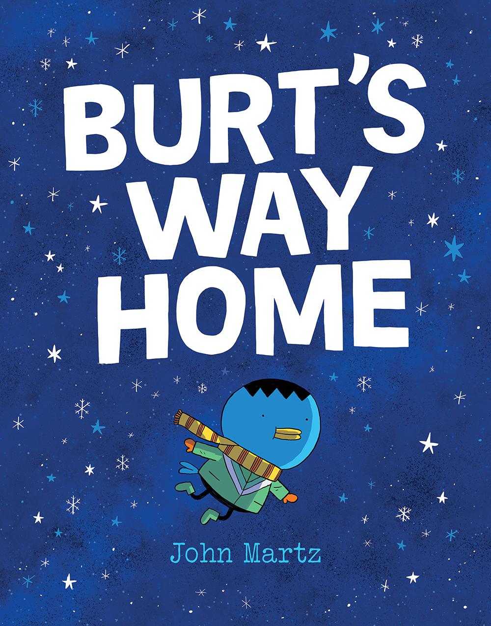 Burt's Way Home by John Martz - Cover