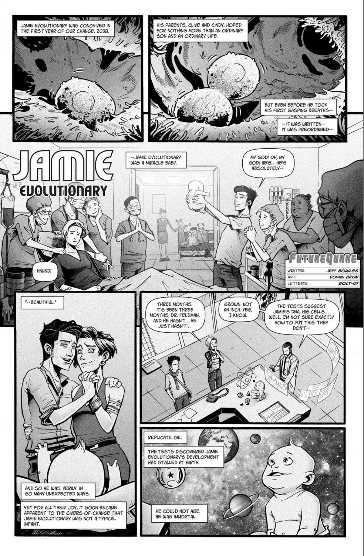 Futurequake Sumer 2017 - Jamie Evolutionary