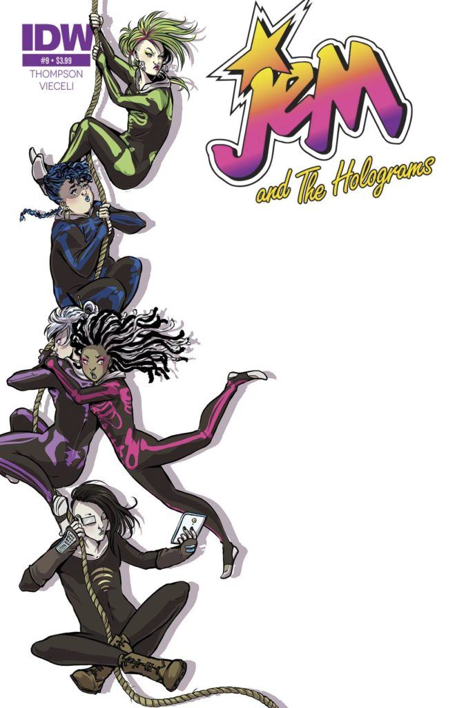 Jem- & The Holograms #9 - Cover