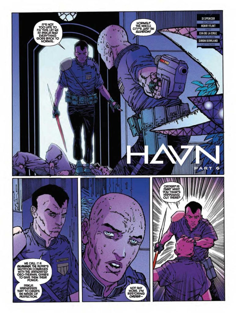 Judge Dredd Megazine 387 -HAVN