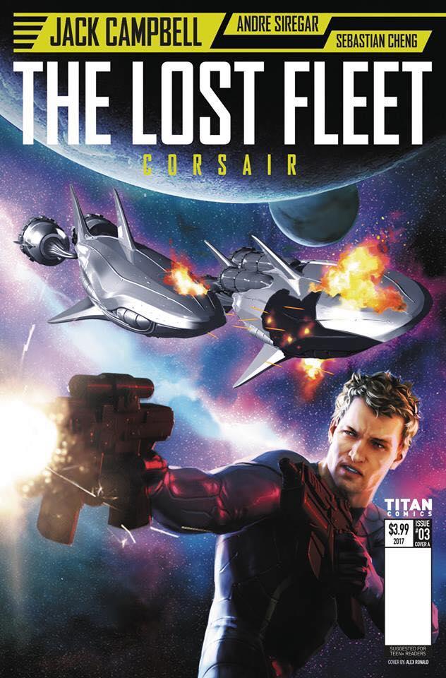 Lost Fleet - Corsair #3 Cover A by Alex Ronald