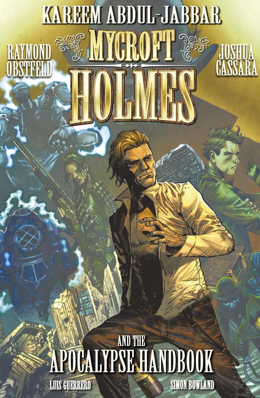 Mycroft Holmes And The Apocalypse HandbookTrade Paperback - Cover