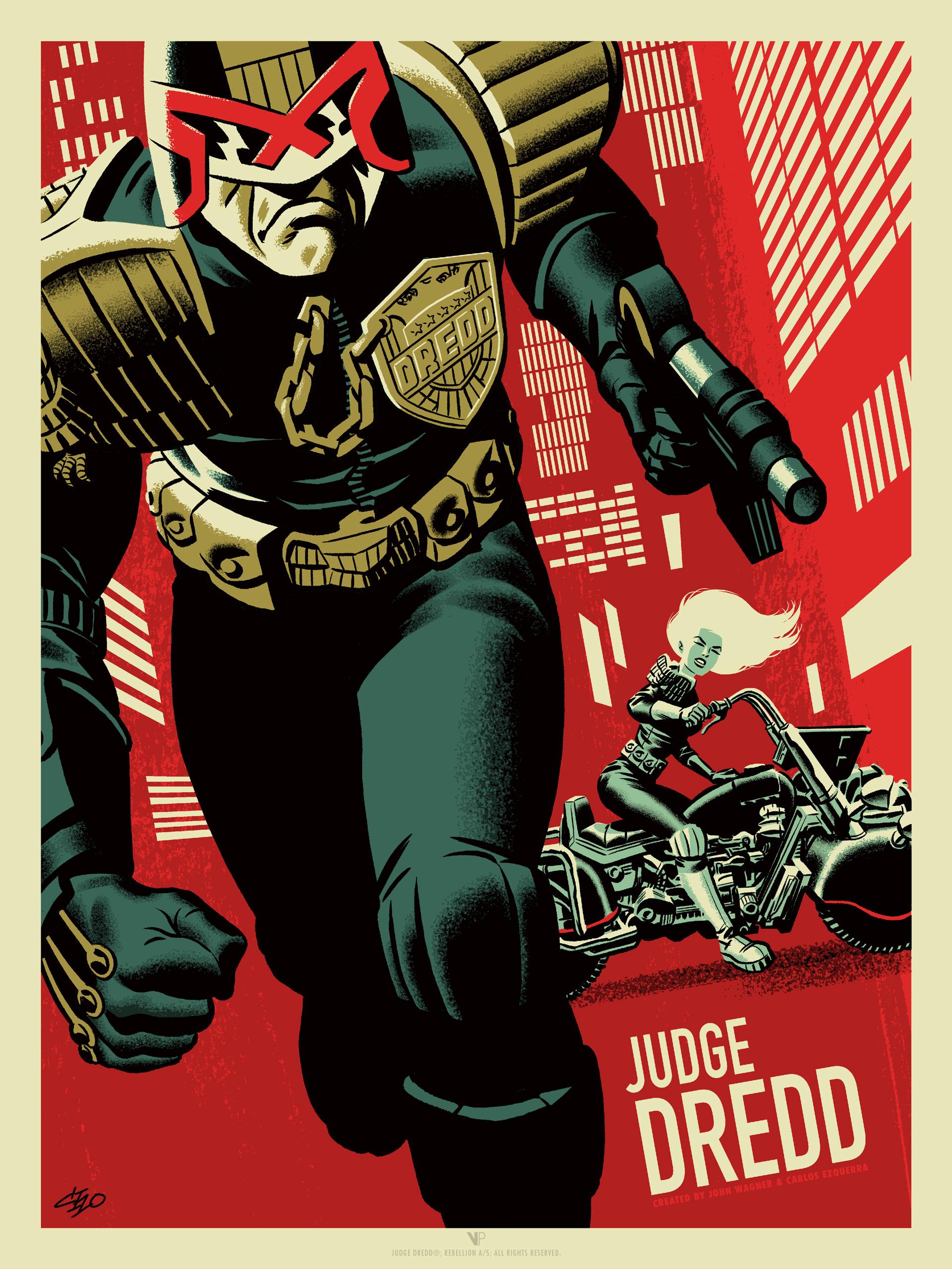 Zarjaz Judge Dredd by Michael Cho (Regular Version)