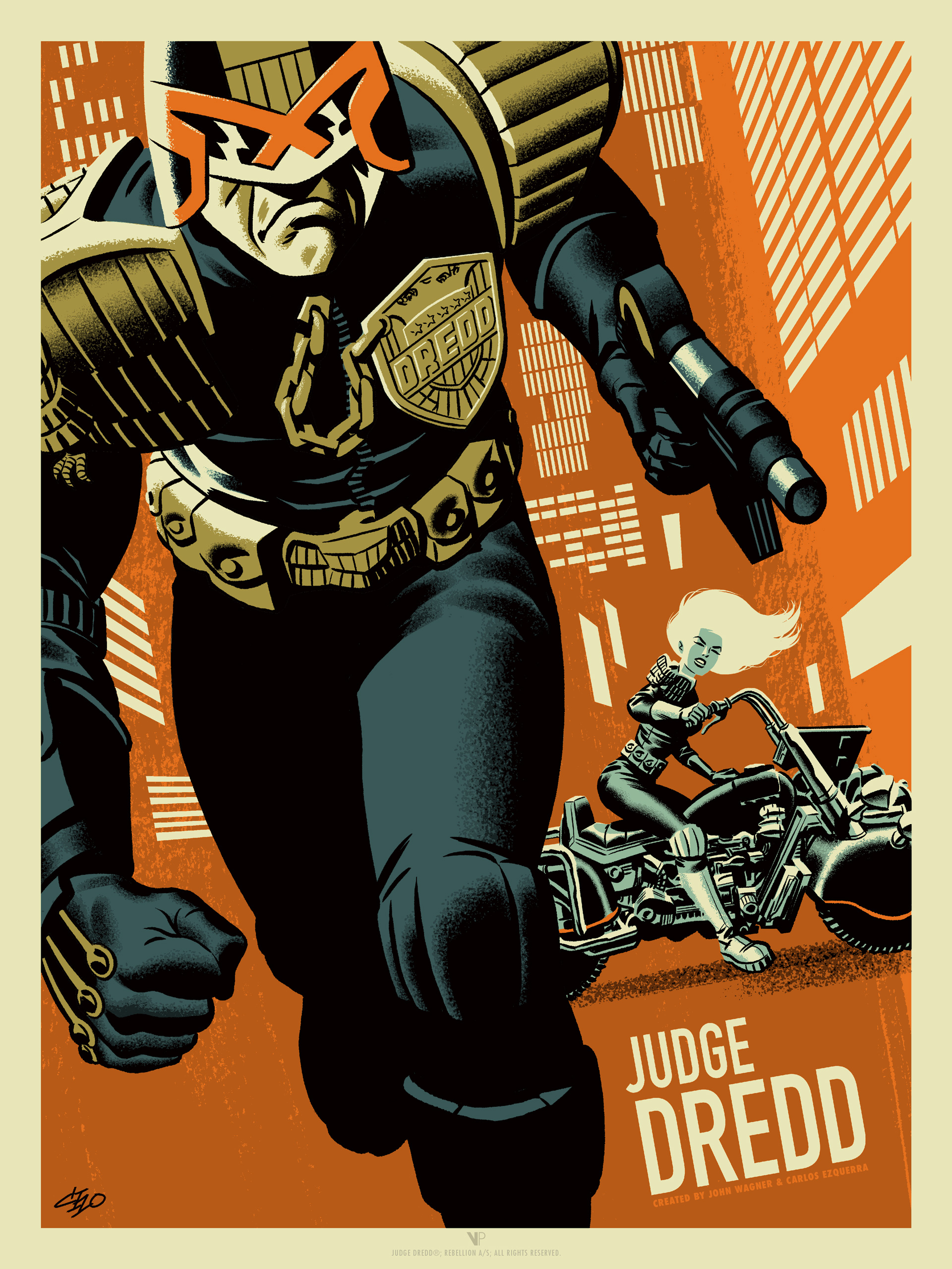Zarjaz - Judge Dredd by Michael Cho (Variant)