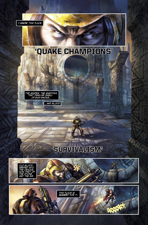 Quake Champions #1 - Sample Art