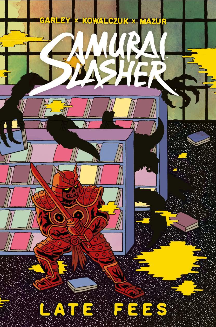 Samurai Slasher - Late Fees - Cover