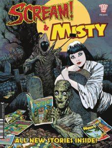Scream & Misty Halloween Special 2017 - Cover Rejig