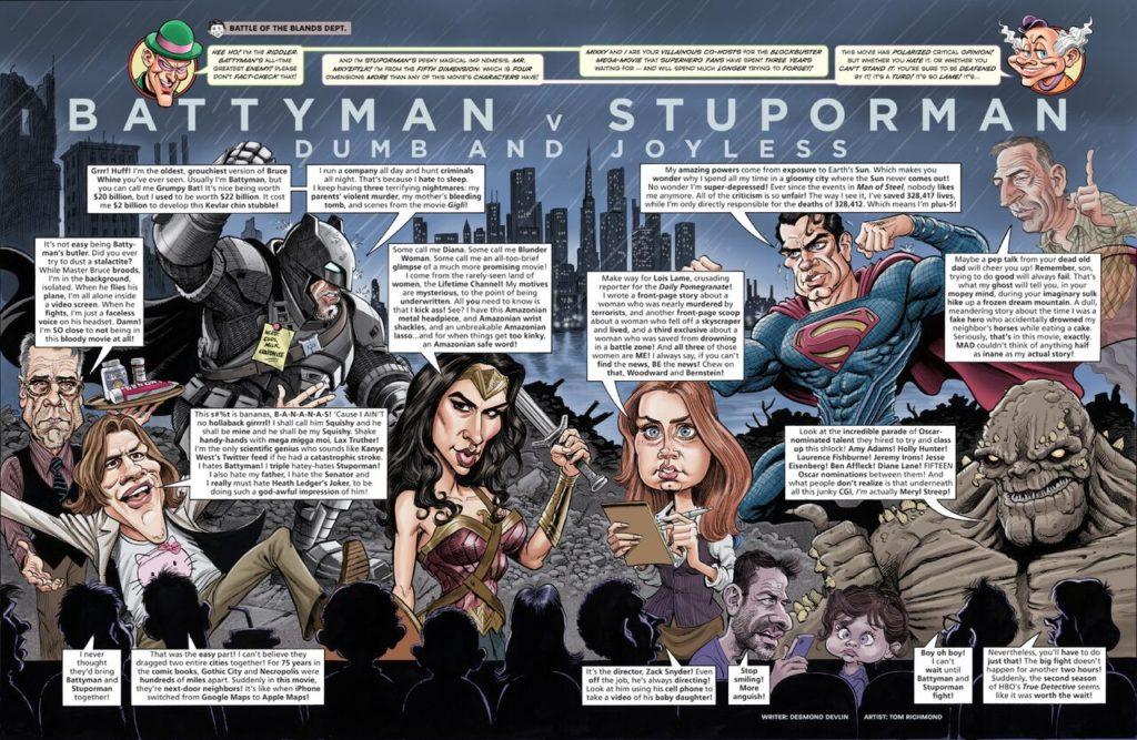 Tom Richmond -Batman vs Stuporman