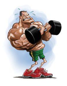 Tom Richmond Weightlifter