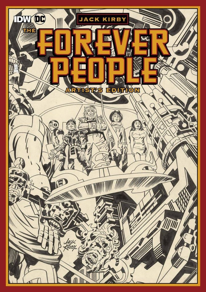 Forever People - Artist's Edition - Cover
