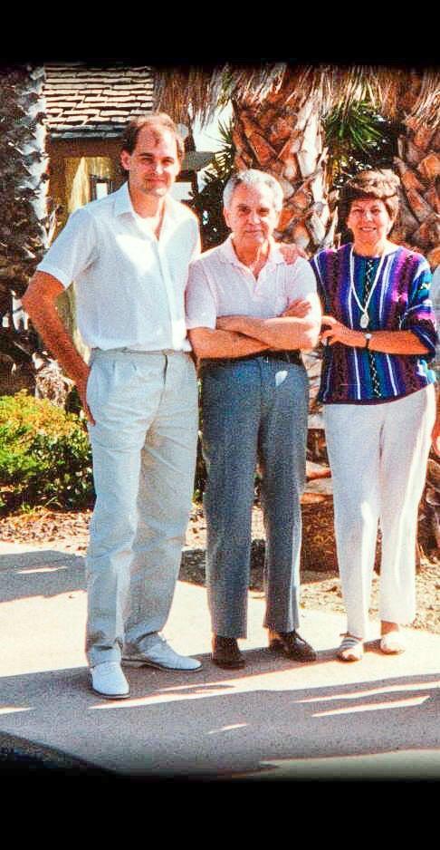 Glenn B. Fleming with Jack and Roz Kirby