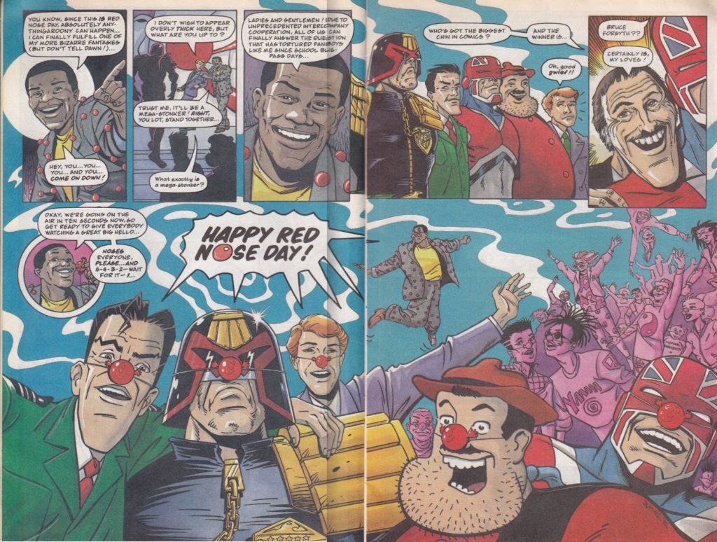 Comic Relief Comic 1991 - Bruce Forsyth, Big Chin