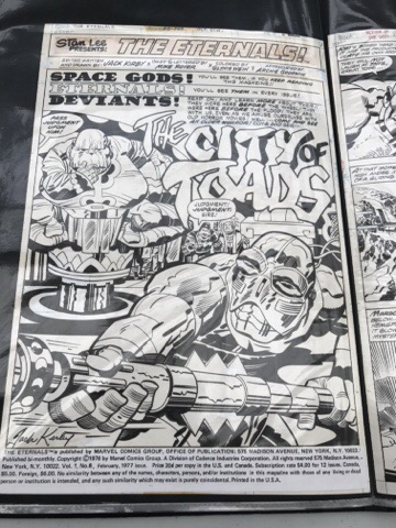 London Super Comic Con 2017 - Jack Kirby Art